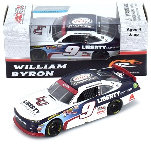 William Byron #9 1/64th 2017 Lionel Liberty University  Xfinity Champion  Camaro