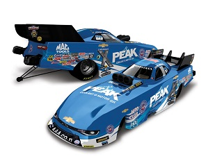 John Force 1/64th 2017 Lionel Peak Camaro Funny Car