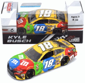 Kyle Busch #18 1/64th 2018 Lionel M and Ms Toyota Camry