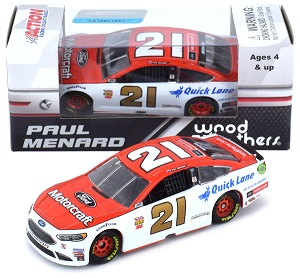 Paul Menard #21 1/64th 2018 Lionel Motorcraft Ford