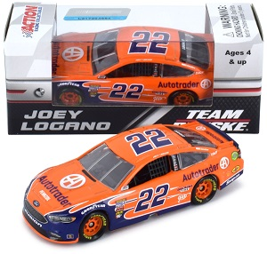 Joey Logano #22 1/64th 2018 Lionel AutoTrader Ford Fusion