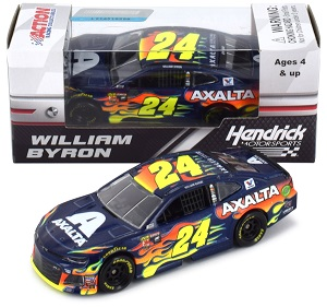 William Byron #24 1/64th 2018 Lionel Axalta Camaro