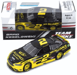 Brad Keselowski #2 1/64th 2018 Lionel Alliance Truck Parts Ford Fusion