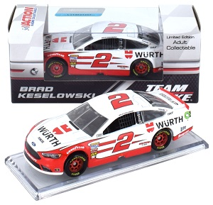 Brad Keselowski #2 1/64th 2018 Lionel Wurth Ford Fusion