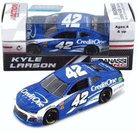 Kyle Larson #42 1/64th 2018 Lionel Credit One Bank Camaro ZL1