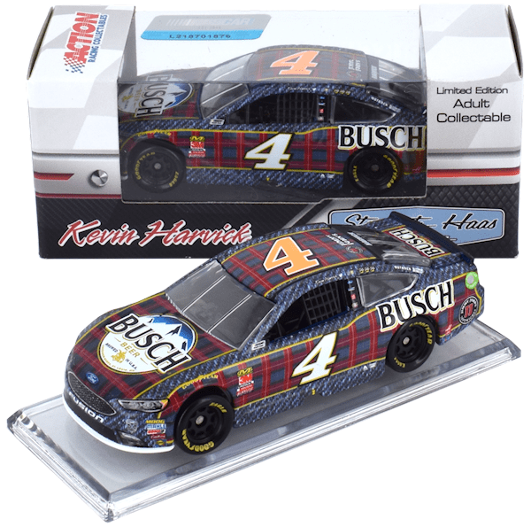 Kevin Harvick #4 1/64th 2018 Lionel Busch Beer Flannel Ford Fusion