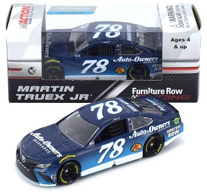 Martin Truex Jr #78 1/64th 2018 Lionel Auto Owners Insurance Toyota Camry