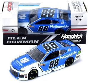 Alex Bowman #88 1/64th 2018 Lionel Nationwide Insurance Camaro