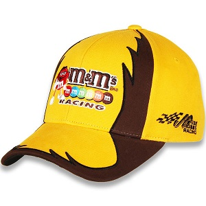 Kyle Busch #18 2018 M&Ms Racing brown and gold Jagged hat