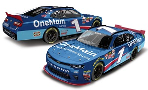 Elliott Sadler #1 1/64th 2018 Lionel One Main Financial Camaro