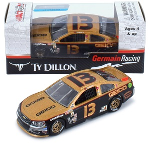 Ty Dillon #13 1/64th 2017 Lionel Geico Darlington Chevy SS