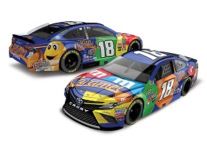 Kyle Busch #18 1/64th 2017 Lionel Caramel M and Ms Toyota Camry