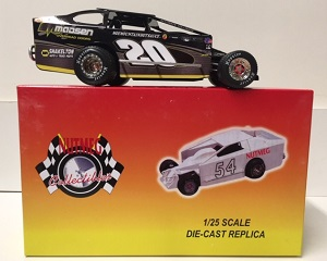 Brett Hearn #20 1/25th scale Nutmeg Madsen Overhead Doors dirt modified