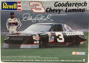 Dale Earnhardt #31990 Goodwrench Lumina Revell 1/24th plastic model kit