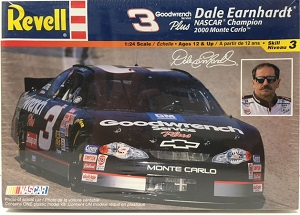 Dale Earnhardt #3 2000 Goodwrench Plus Championship Monte Carlo 1/24th plastic model kit