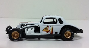 Wayne Edwards #41 1/64th scale custom built modified coupe