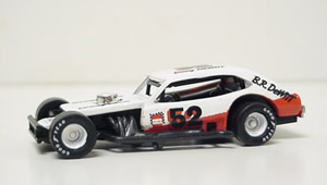 Doug Hewitt #52 1/64th BR Dewitt Custom built Pinto modified