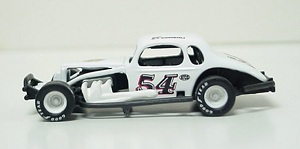 Bobby Gerhart #54 1/64th custom-built coupe  modified