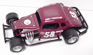 Merv Treichler #58 1/25th Custom Built  Modified Coupe
