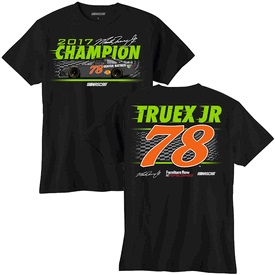 Martin Truex Jr #78 Denver Mattress Monster Energy Champion youth tee shirt
