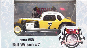 Bill Wilson #7 1/64th 2009 Nutmeg vintage modified coupe