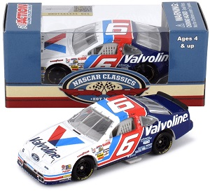 Mark Martin #6 1/64th 2019 Lionel Valvoline 1993 Darlington Win Thunderbird