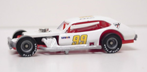 Geoff Bodine #99 1/64th custom-built Pinto modified