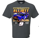 Chase Elliott #9 Sunenergy First Win gray  youth tee shirt