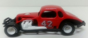 Bob Sweeney #42 1/64th custom-built coupe modified