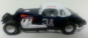 Butch Harris #3A 1/64th custom-built coupe modified