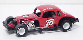 Gerald Chamberlain #76 1/64th scale modified coupe