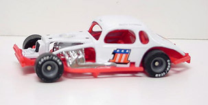 Charlie Jarzombeck #1 1/64th scale modified coupe