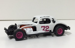 Jim Rudolph #72 1/64th custom built coupe modified