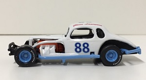 Glenn Lawrence #88 1/64th custom built coupe modified