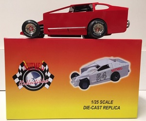1/25th scale RED blank Dirt Modified