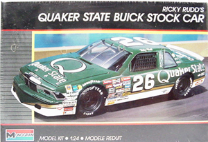 Ricky Rudd #26 Quaker State Buick  plastic model kit