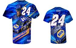 Chase Elliott #24 NAPA Hendrick Motorsports turbo sublimated t-shirt
