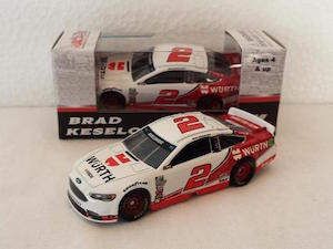 Brad Keselowski #2 1/64th 2017 Lionel Wurth Ford Fusion