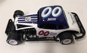 Buzzie Reutimann #00 1/25th Nutmeg Dover Brake 1937 Chevy Modified Coupe Issue 1