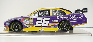 Jamie McMurray #26 1/24th 2009 ARC Crown Royal Ford Fusion