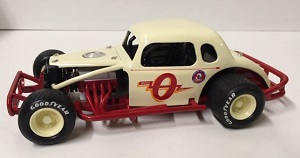 Budd Olson #0 1/25th Nutmeg  Modified Coupe