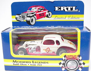 Budd Olsen #0 1/64th ERTL modified coupe