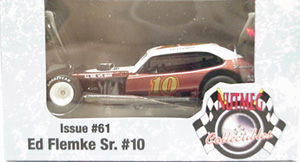Ed Flemke, Sr. #10 1/64th 2009 Nutmeg Pinto modified