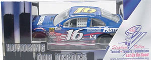 Trevor Bayne #16 1/64th 2011 Lionel Fastenal 9/11 Honoring Our Heroes Ford