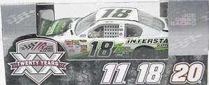 Kyle Busch #18 1/64th 2011 Lione Interstate Battery Toyota