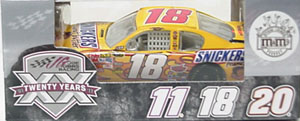 Kyle Busch #18 1/64th 2011 Lionel Snickers Peanut Butter Camry