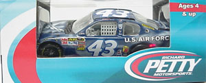 A. J. Allmendinger #43 1/64th 2011 Lionel U. S. Air Force Ford
