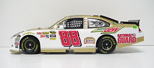 Dale Earnhardt Jr #88 1/24th 2011 LIonel AMP Gold Bristol 50th Impala