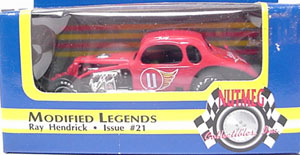 Ray Hendrick #11 1/64th scale modified coupe
