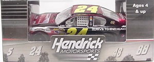 Jeff Gordon #24 1/64th 2012 Lionel AARP/Drive to End Hunge/Chase Credit Impala